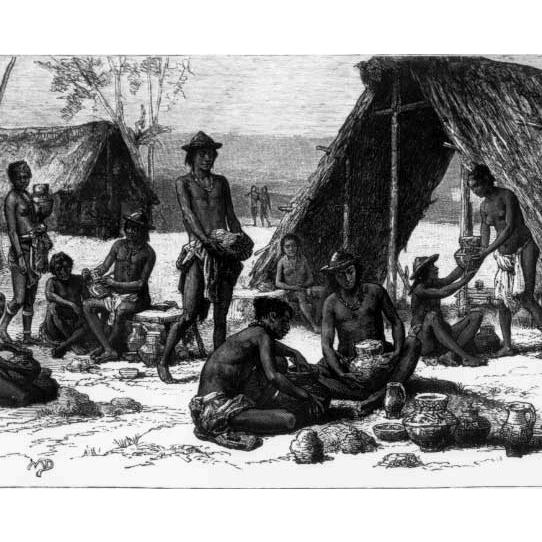 Évolution lexicale du galibi langue caribe de Guyane Française